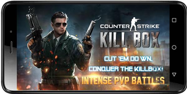 دانلود بازی کانتر استرایک the killbox برای اندروید