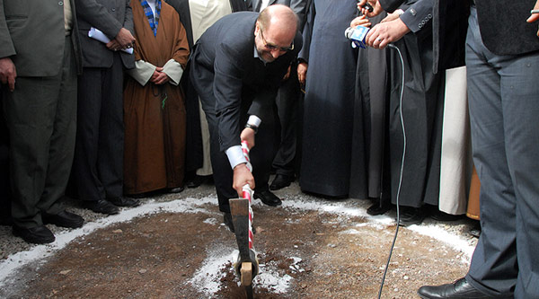 مراسم کلنگزنی مصلی بزرگ امام خمینی(ره) در قیامدشت