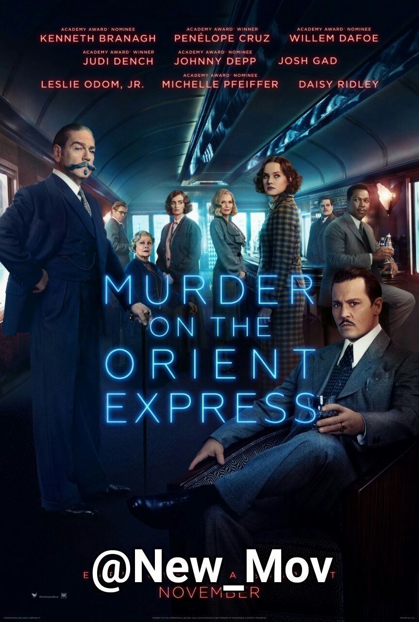 دانلود فیلم Murder On The Orient Express 2017