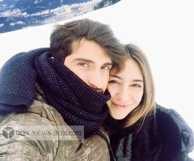 عکس کریم انصاری فرد و همسرش صوفیا