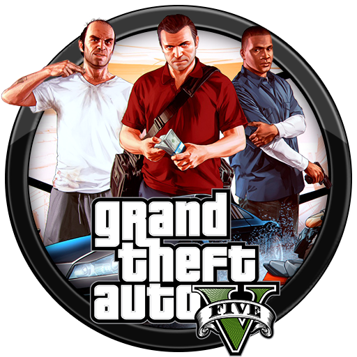 (Grand theft auto V (GTA V Five 5 جی تی ای وی