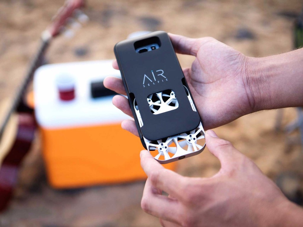 This phone case is also a drone
