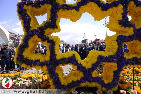 مراسم افتتاحیه سیزدهمین نمایشگاه بین المللی گل و گیاه تهران
