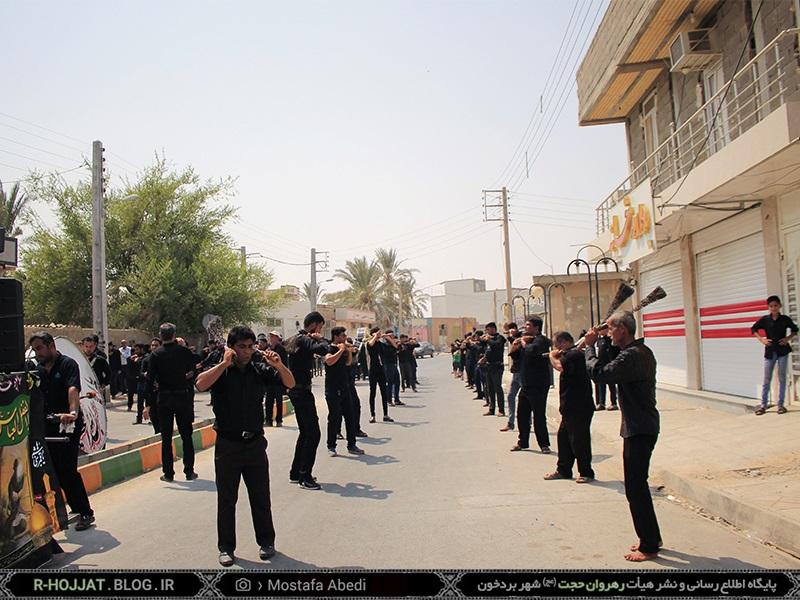 عزاداری عاشورا حسینی در بردخون