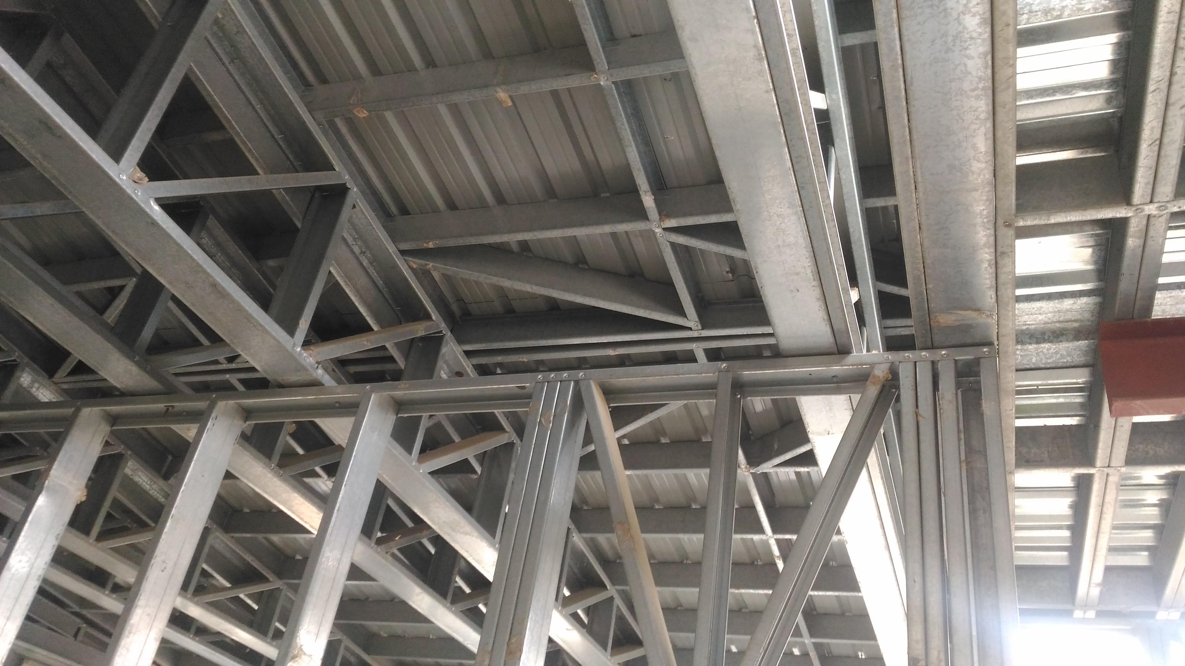 طراحی غیر استاندارد LSF سقف