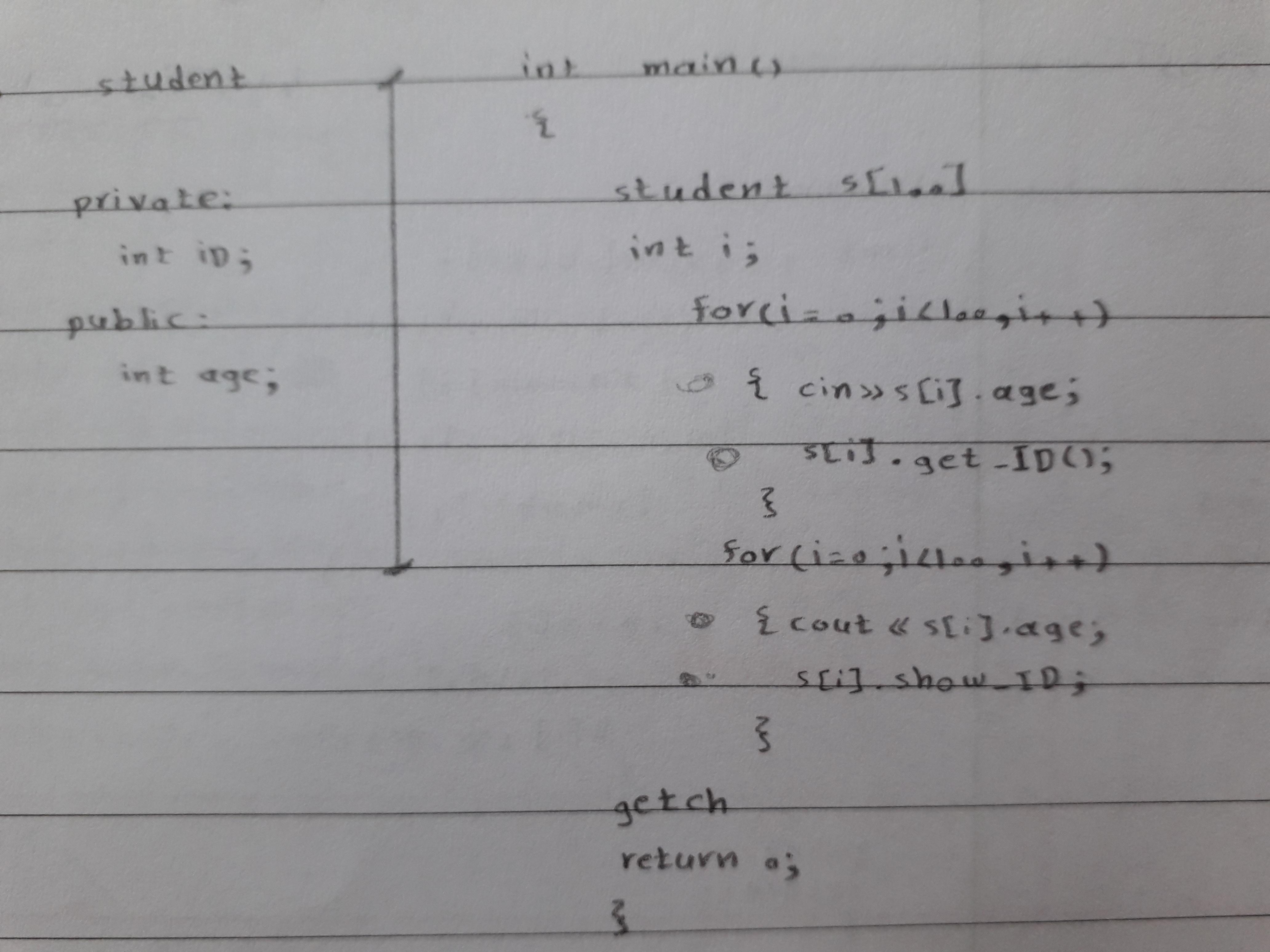 20190601 145723 - برنامه چاپ معدل دانشجویان در c++