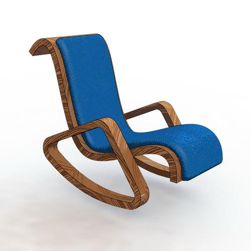 مدل صندلی راحتی نرم افزار سالیدورک