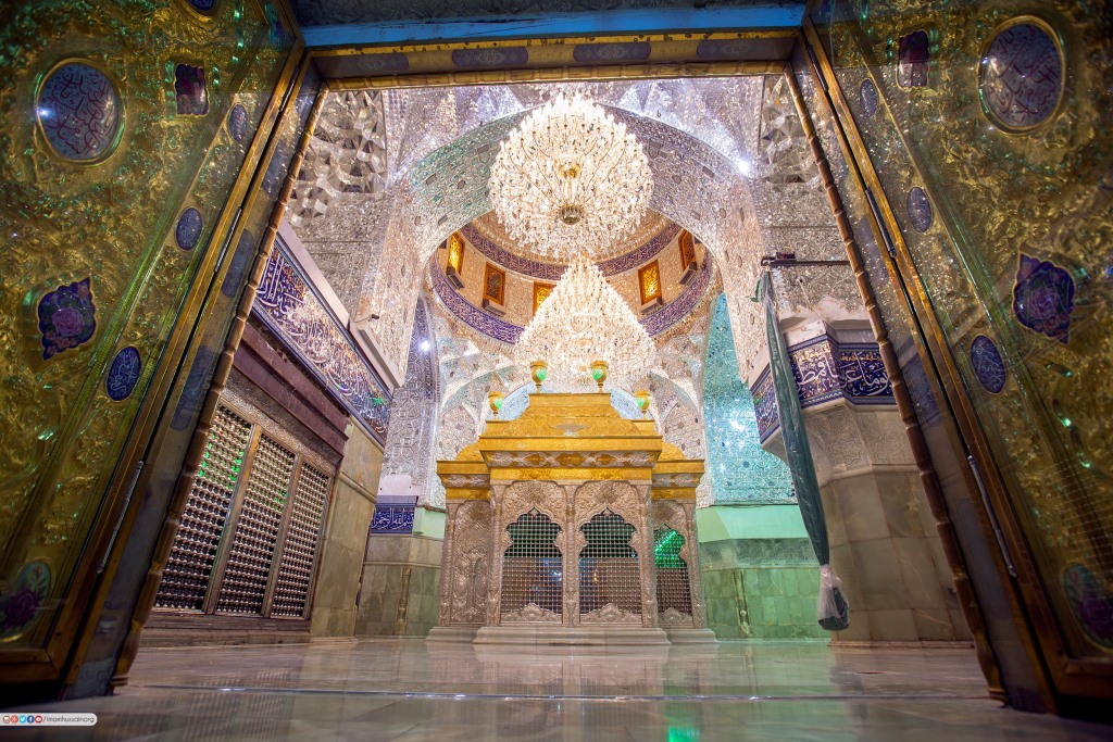 ضریح شش گوشه اباعبدالله الحسین علیه السلام