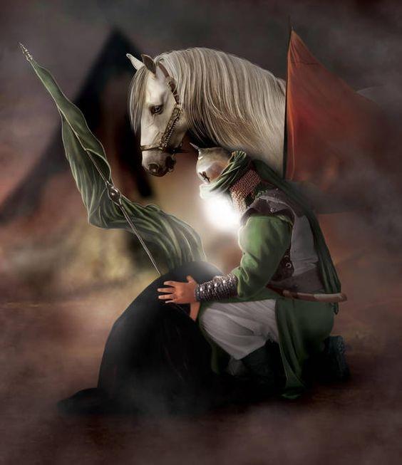 عکس پروفایل محرم عکس اسب امام حسین