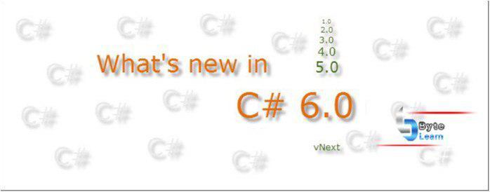 تغییرات جدید در سی شارپ C# 6