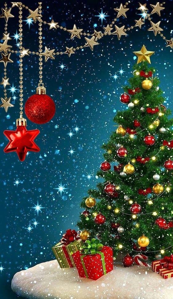 تصویر پس زمینه HD کریسمس برای موبایل