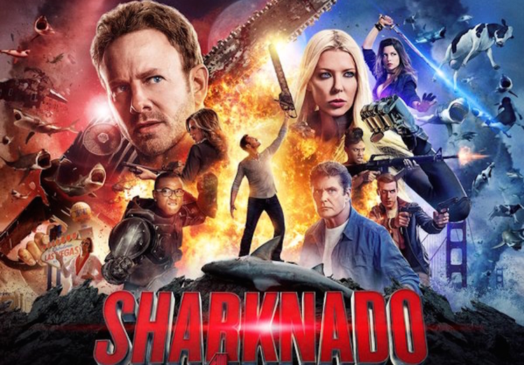 دانلود فیلم Sharknado 5 Global Swarming 2017