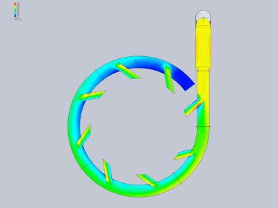 با تحلیل نوع حرکت جریان هوا و سیمولیشن سیالات، اطلاعات مفیدی در طراحی هر دستگاه بدست می آوریم.