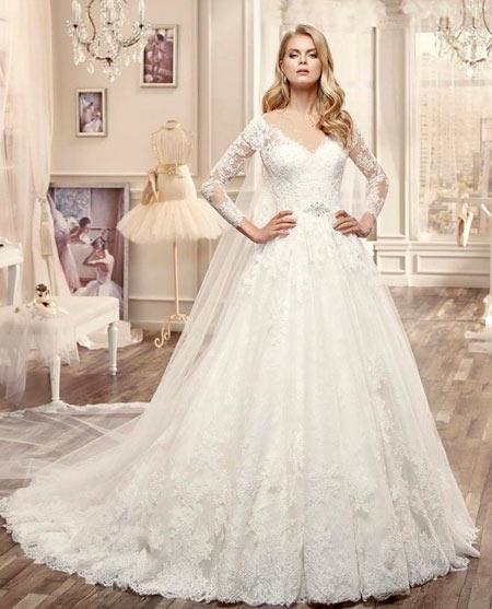 جدیدترین عکس مدل لباس عروس جدید و زیبا 2016 و 95