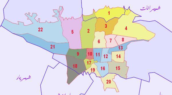نقش تقسیمات شهر در مدیریت یکپارچه شهری
