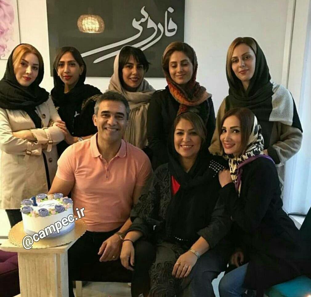 عکس احمدرضا عابد زاده ب همراه همسر اولش