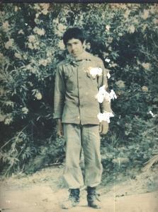 عکسهای  پاسدار شهید ابوالقاسم رضائی