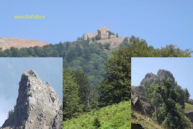 صخره زیبای سیادرف