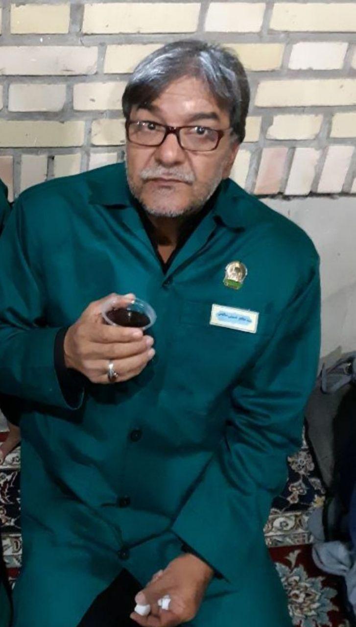مرحوم سید صالح حسینی صالحی ( دیده بان )