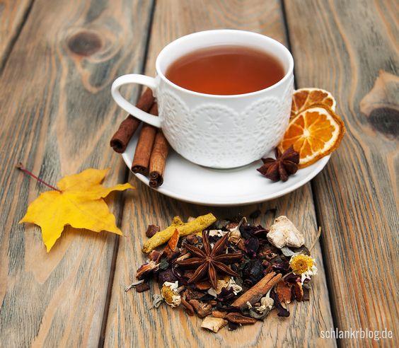 عکس فنجان چای در پاییز با کیفیت خوب برای پروفایل