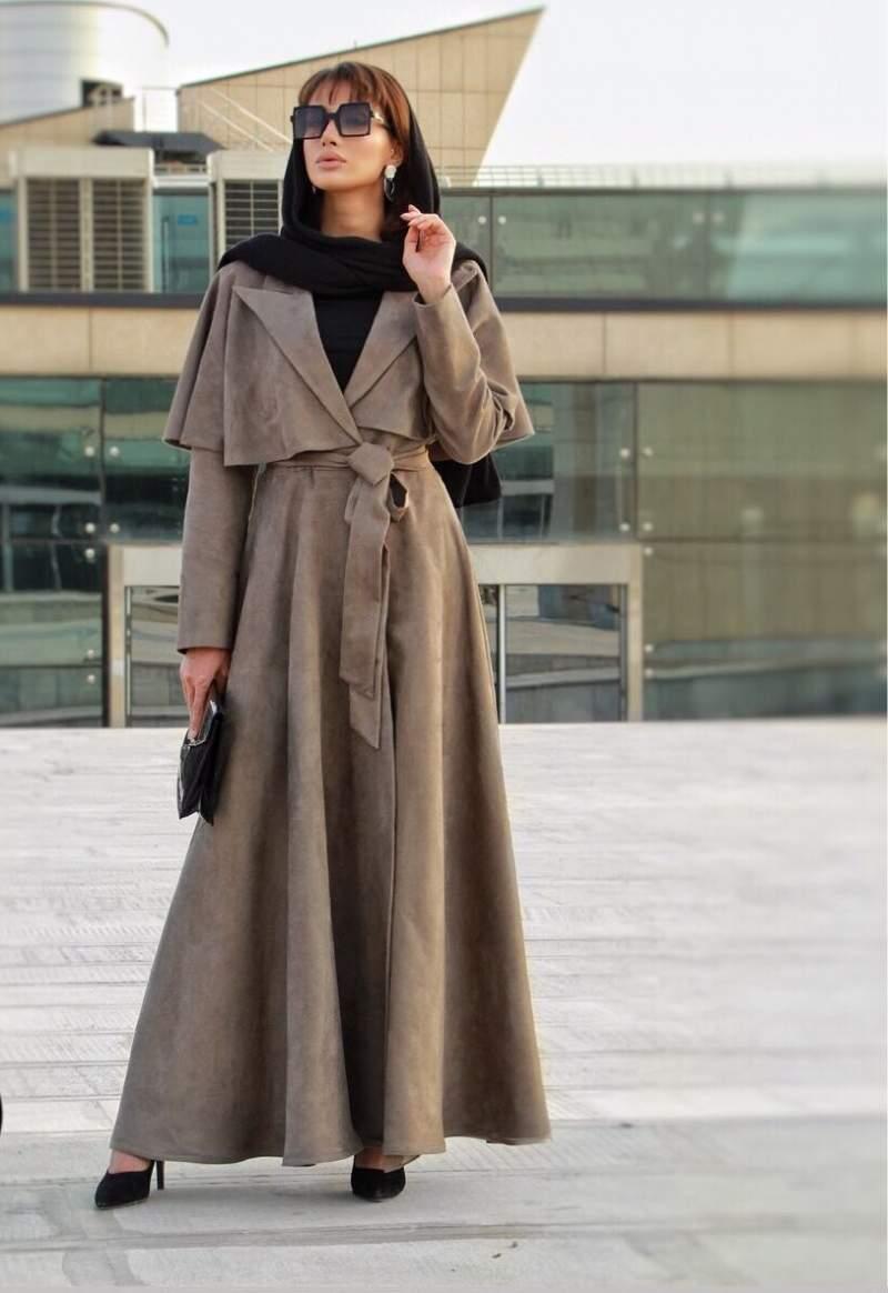 مدل مانتو پاییزی بلند جدید و بسیار شیک دخترانه با طراحی منحصر به فرد