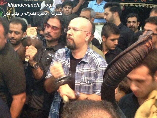 جناب خان در حال عزاداری در بوشهر