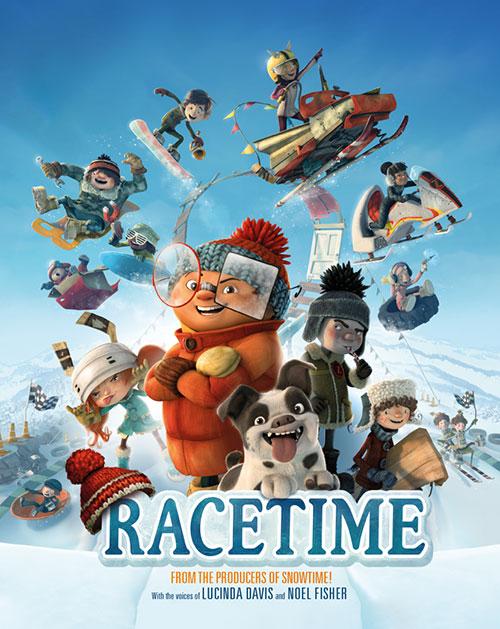 دانلود رایگان دوبله فارسی انیمیشن وقت مسابقه Racetime 20