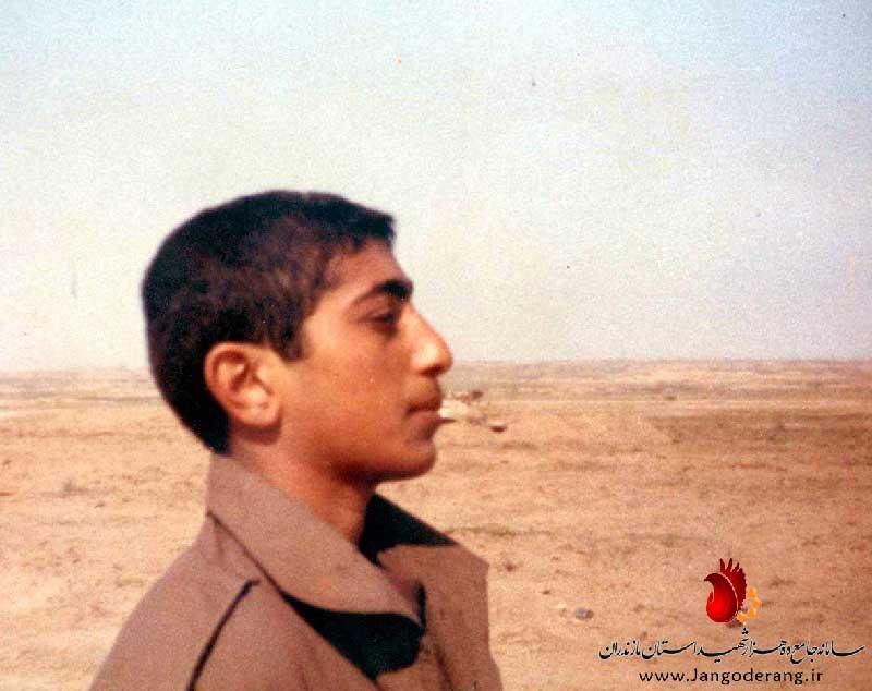 پاسدارشهید محمد علی عرفانی،فرمانده توپ،توپخانه لشگر25کربلا