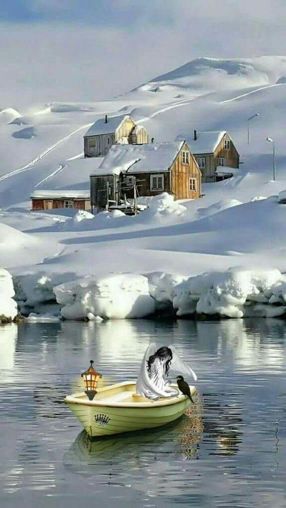 عکس پس زمینه زمستانی فول اچ دی برای موبایل