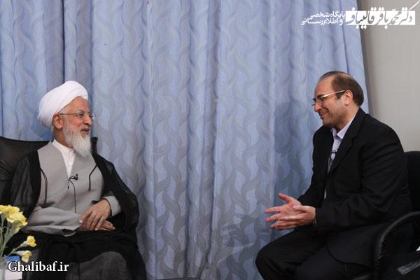 دیدار شهردار تهران با مراجع عظام تقلید در قم