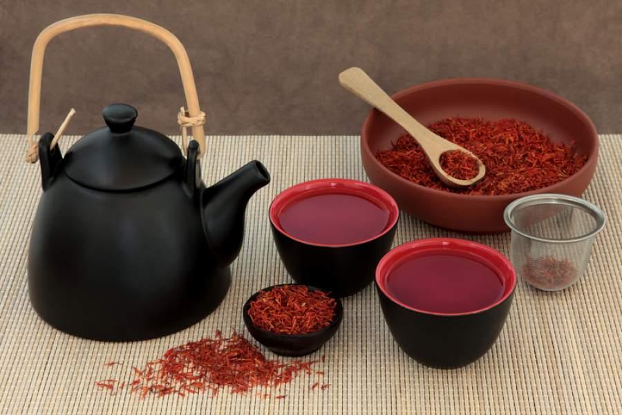 خواص دم کرده (چای و دمنوش) زعفران برای قلب