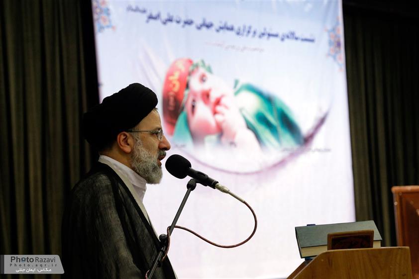 سخنرانی تولیت آستان قدس رضوی در نشست مسئولین همایش جهانی حضرت علی اصغر(ع)