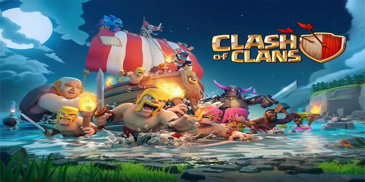 دانلود بازیClash of Clans v9.105.4-بازی انلاین کلش اف کلنز