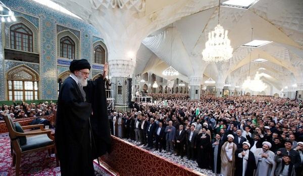 پیام تولیت آستان قدس رضوی به مناسبت سخنرانی مقام معظم رهبری