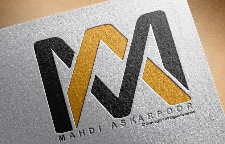 طراحی لوگو MA