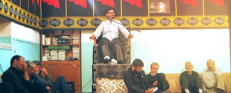 7عکس از برگزاری مجلس عزاداری سیدالشهداء در حسینیه امام زین العابدین (ع) بردخون