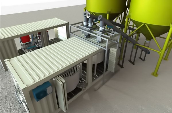 Batching plant solidworks project