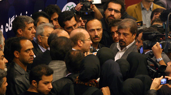 حاشیه مراسم کنگره بزرگداشت ١٠٠٠ شهید منطقه ١٠