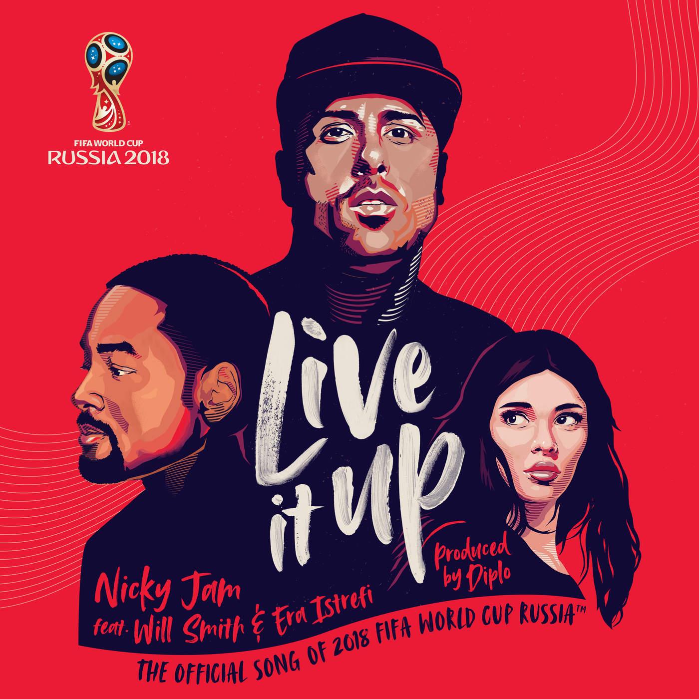 آهنگ رسمی جام جهانی 2018 روسیه به نام Live it Up
