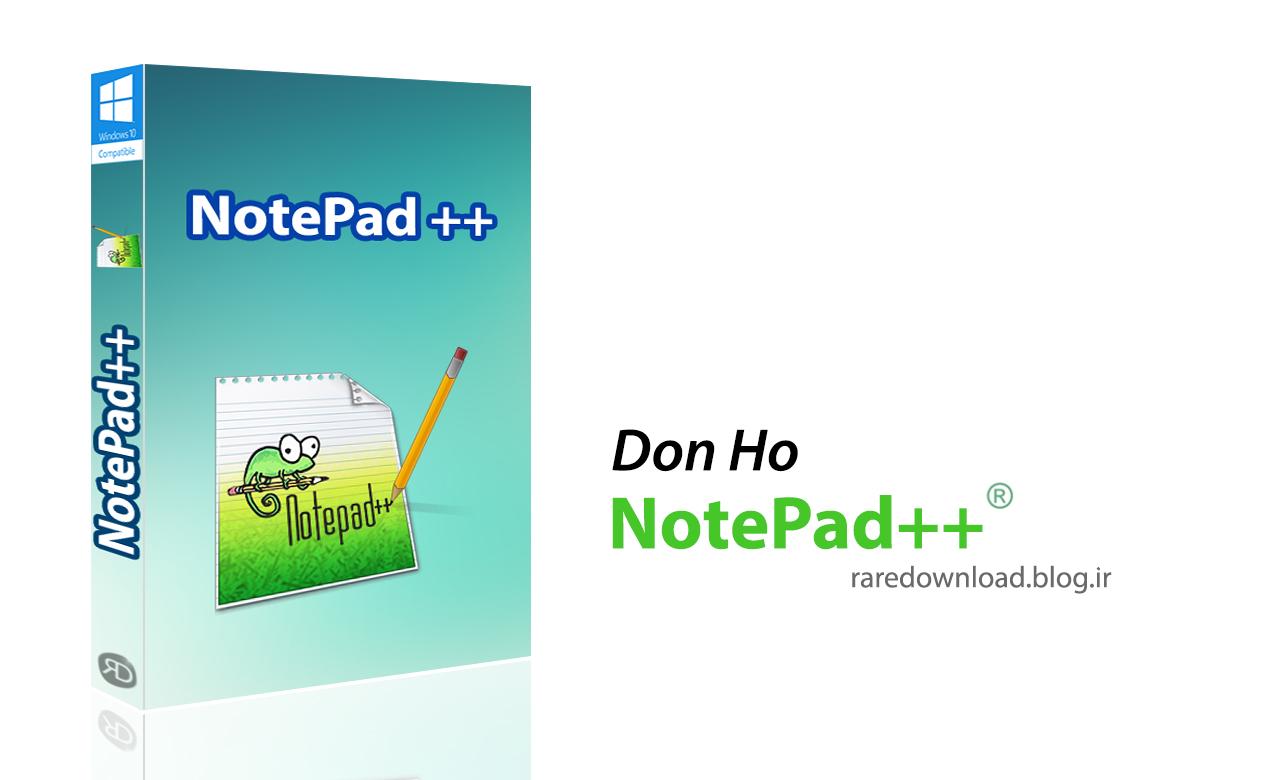 برنامه ++Notepad