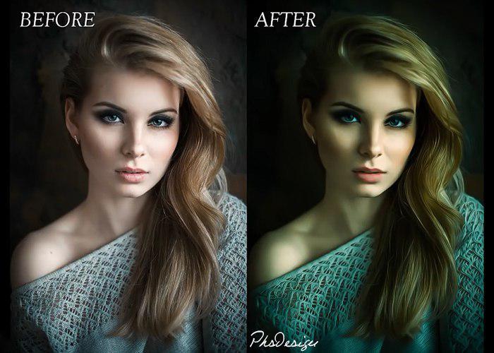 تبدیل عکس به نقاشی رنگ روغن