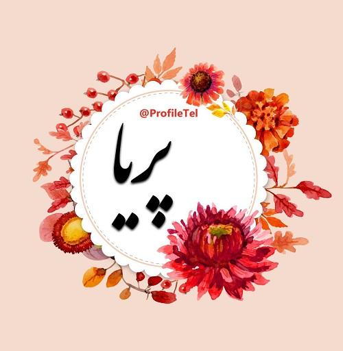 عکس پروفایل اسم پریا