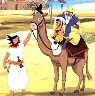 عکس کارتون های دهه 60: سندباد و علی بابا