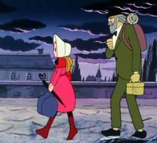 عکس کارتون های دهه 60: کارتون دختری به نام نل
