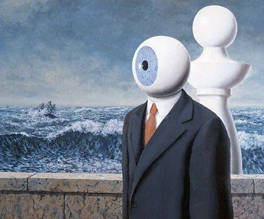 عبور سخت، رنه ماگریت | The Difficult Crossing, Rene Magritte