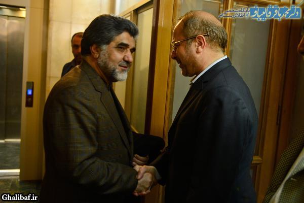 نشست مشترک شهردار پایتخت با استاندار تهران