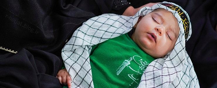 58عکس از همایش باشکوه شیرخوارگان حسینی در بوشهر