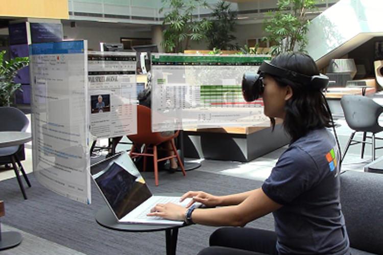 نمایشگر مجازی ماونت راجرز مایکروسافت در ویدئویی جدید مشاهده شد