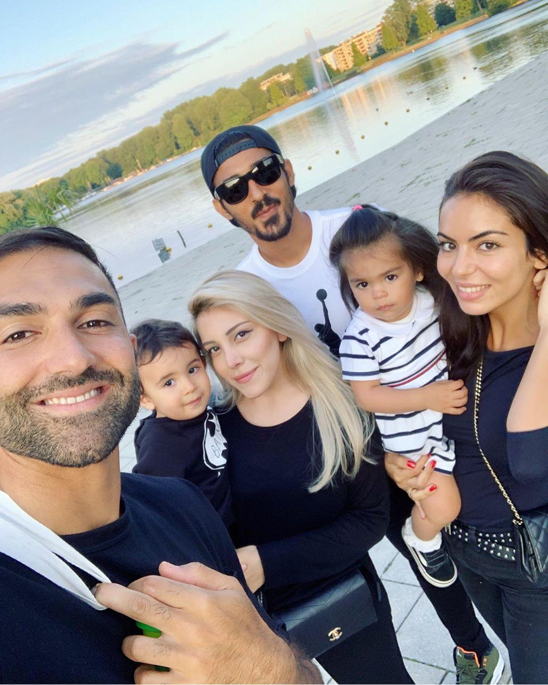 عکس خانوادگی رضا قوچان نژاد