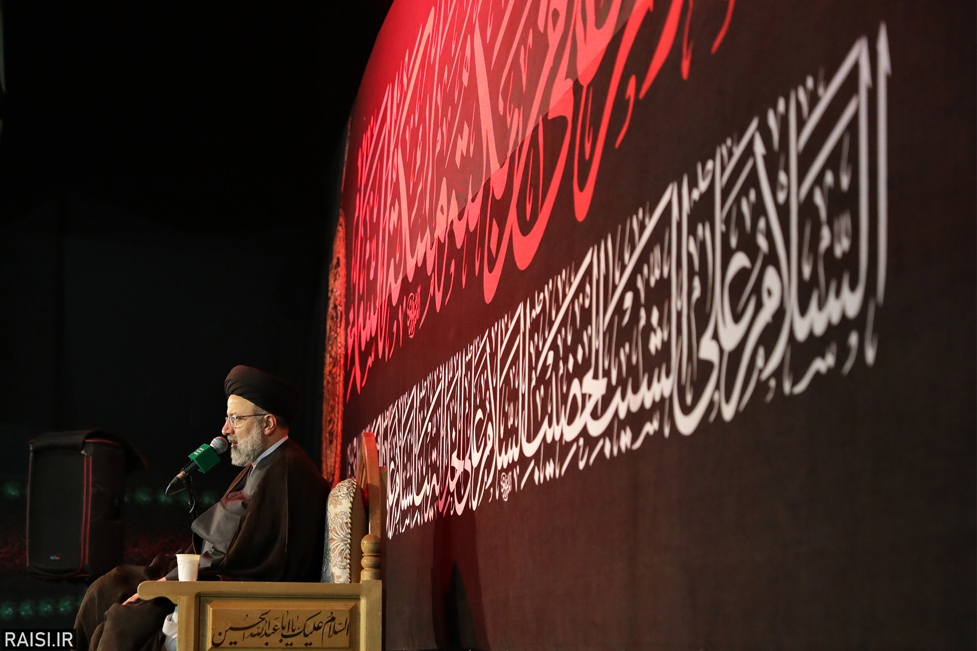 گزارش تصویری سخنرانی تولیت آستان قدس در هیئت رزمندگان اسلام استان اصفهان